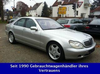 Mercedes Benz S 500 AMG Alus/Merc. Scheckheft/Vollausst