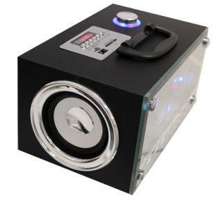 Mobiler Lautsprecher Box  MP4 Player Radio USB SD mit Fernbedienung