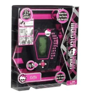 NEU  MONSTER HIGH iCOFFIN Handheld Device Spielekonsole