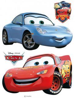 Wandsticker TÜV geprüft Wandtattoo Kinderdeko Tattoo Disney Cars