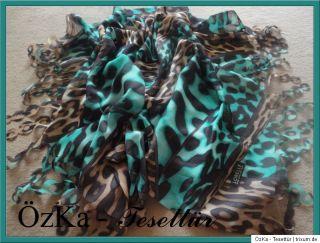 2012 YENI Lazer Kesimli Leopard Sal Halstuch Scarf Hijab Esarp Dolama