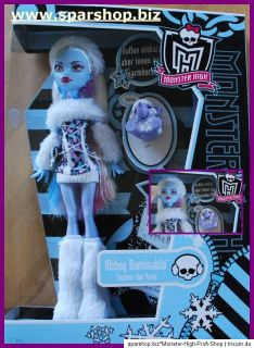 Monster High Abbey Bominable  OVP   NEU   MATTEL