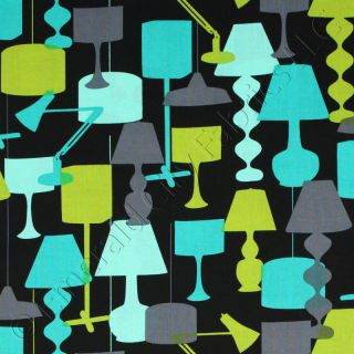 Michael Miller Kellys Lamp Lagoon Cotton Quilt Fabric