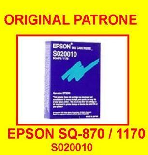 EPSON Patrone Ink Cartridge SQ 870 / 1170 S020010 Black Neu OVP