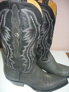 Marlboro Classics Western Cowboy Stiefel Stachelrochen Leder Boots Gr