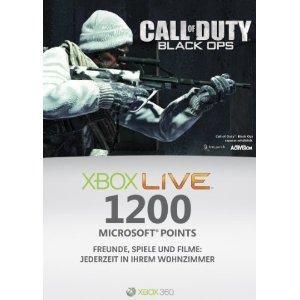 Xbox Live 1200 Points Microsoft Credits Code 360 point *Original* *Neu
