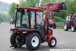 Traktor Schlepper FOTON Europard FT254 Kabine Allrad Frontlader