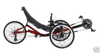 Fahrrad Dreirad   Liegerad Trike T3 CX TADPOLE