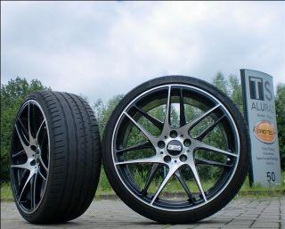 BBS CX R 20 Zoll schwarz polier Radsaz 245/295 BMW 5er 560 E60/61 u