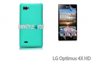 Hülle Hartschale Case Cover Tasche für LG P880 Optimus 4X + Folie