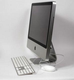 Apple iMac MA876D A 20 Zoll ALU Intel Core 2 Duo 2 0 GHz 2 GB RAM 250