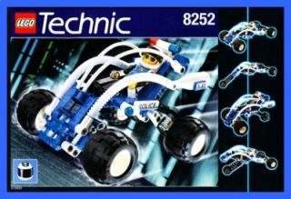 8252 Technic Technik Beach Buster Police Car Polizei Auto 887
