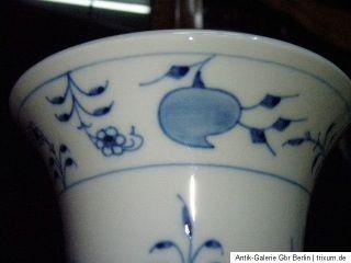 Meissen Zwiebelmuster große Stangen Vase 25 cm TOP 1. Wahl