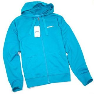 Asics Men Sweatjacke mit Kapuze Full Zip Hoody Sweat Jacke