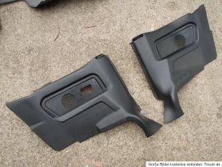 BMW E30 Cabrio ürpappen ürverkleidung hinen Leder schwarz