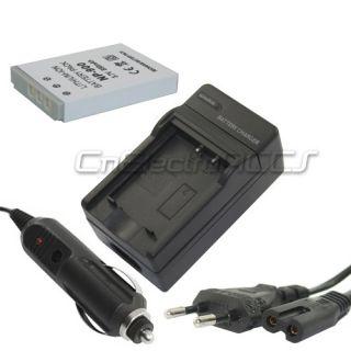 Batería + Cargador para Minolta NP 900 DiMAGE E40 E50