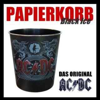 AC/DC Black Ice Papierkorb