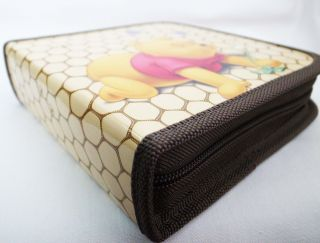 Winnie the Pooh 40PCS CD DVD Storage Bag Case Holder