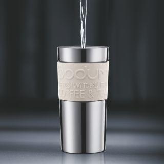 bodum TRAVEL PRESS SET Kaffeebereiter mit extra Trinkaufsatz, Vakuum