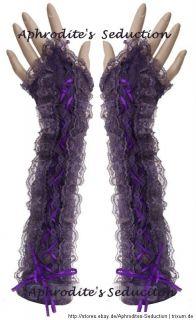 Spitze Stulpe Lace Gothic Lolita Handschuhe Punk COSPLAY Kostüm