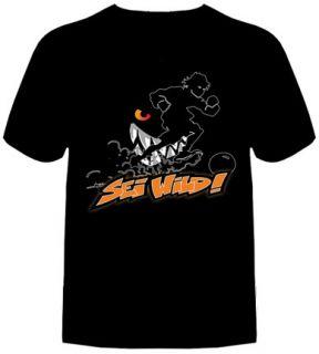 Die Wilden Kerle Fußball T Shirt SEI WILD Schwarz limited edition