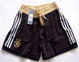 adidas Shorts Hose Deutschland DFB Women schwarz weiß Gr. S NEU UVP
