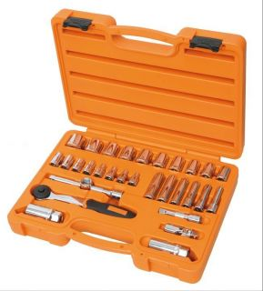 Beta Tools Easy Socket Set & Ratchet 3/8 Square Drive 29 Piece Kit in