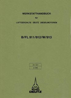 Werkstatthandbuch Deutz Diesel Motor BF6L913.