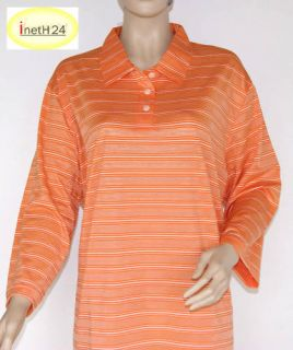 Blusen Shirt ¾ Arm T Shirt Poloshirt orange Gr. 52 NEU 908