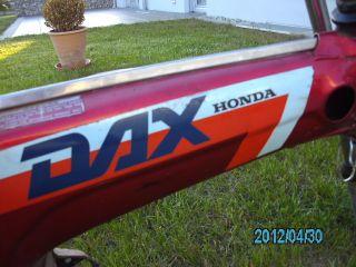 Honda DAX AB23 50ccm Rahmen Baujahr 1988, keine Monkey