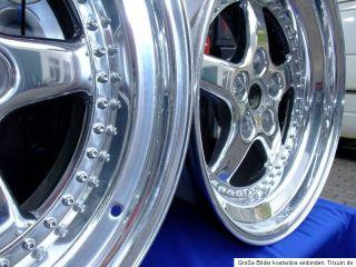 AXIA Felgen 8,5+10X18 Chrompoliert TOP Audi, Mercedes 5X112