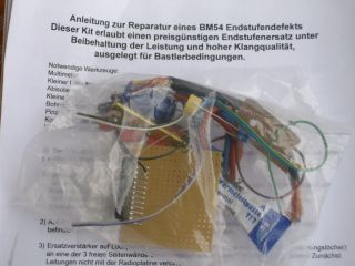 BMW BM54 Repair Kit Reparatur Set für BMW Radiomodul BM 54 E39 E53 X5