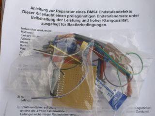 BMW BM54 Repair Kit Reparatur Set für BMW Radiomodul BM 54 E39 E53 X5