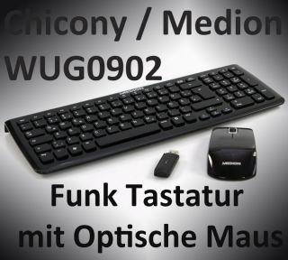 All In One Etertainment Funk Tastatur mit Optische Maus B Ware schwarz