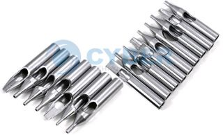 23PCS Stainless Steel Tattoo Nozzle Tips 23 Kinds Supply for Needle