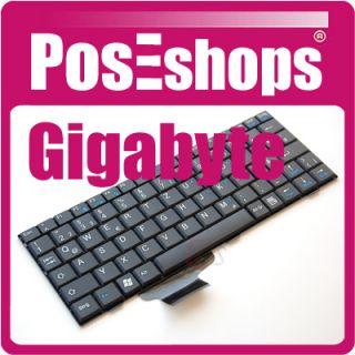 Tastatur für Gigabyte M912 M 912 Netbook DE schwarz NEU