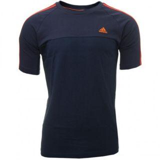 Produktbild ADIDAS Herren Ess 3S Crew Tee/T Shirt Navy