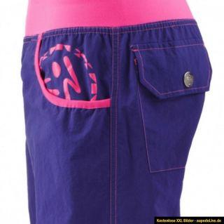 Zumba Electro Cargo Pants Acai Gr.S   NEU