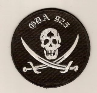 US Army ODA 925th Special Forces Calico Jack Uniform patch Aufnäher