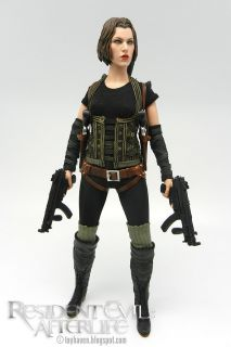 HOT TOYS 12 MMS139 RESIDENT EVIL AFTERLIFE BIOHAZARD ALICE 1/6 MP5K