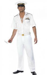 Lizenz TOP GUN Kapitän Kostüm Pilot Offizier Kostüm