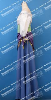 Esmeralda Cosplay Dress Costume Version 2 Size M Human Cos