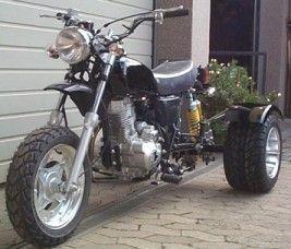 Chaly Dax Auspuff Skyteam Honda ohneKatalysator 50 125c