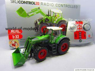 Siku 6769 Fendt 939 mit Frontlader Set RC 132 NEU in OVP