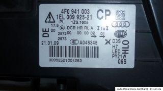 Audi A6 4F Xenon Front Scheinwerfer links LED Tagfahrlicht 4F0941003CP