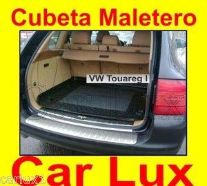 Cubeta para maletero en forma original VW Touareg