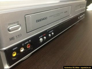 Daewoo SD 7500 DVD Player video cassetten recorder VHS kombi gerät 1A