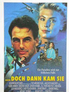 Cinema 947 Filmkarte,doch dann kam sie mit Mark Harmon + Deborah