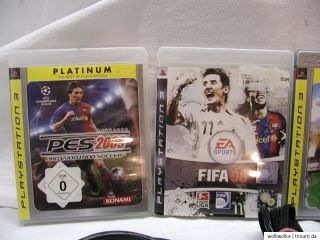 Sony PlayStation 3 PS3 Konsole Spielkonsole 60GB Piano Black TOP & 4