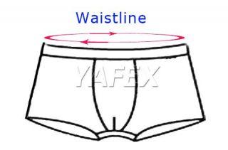 BNWT Bottoms Men Smooth Underwear Nylon Boxers Briefs Open Front